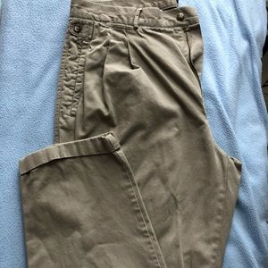 Men's tan slacks